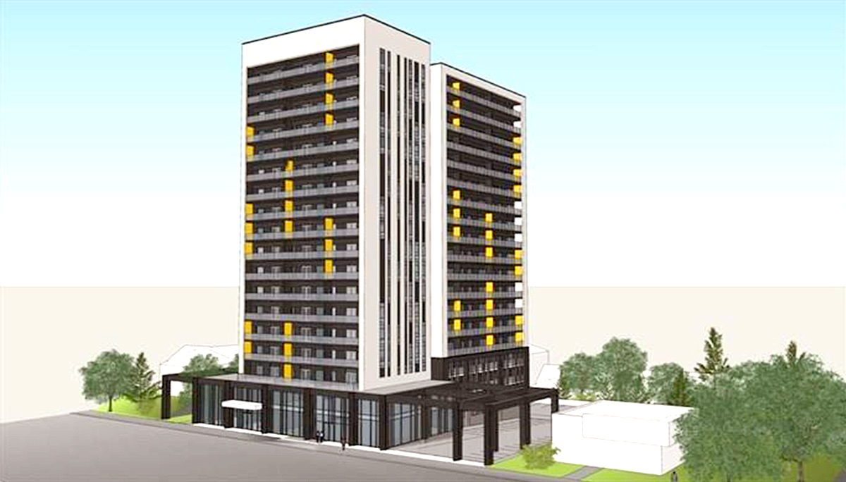 18 Storey High-Rise Condos in Kitchener