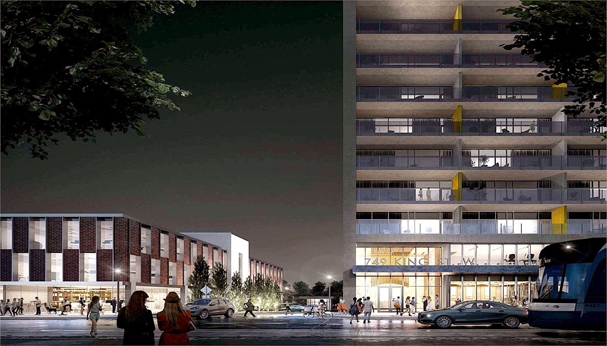 New Condo project at 749 King St W, Kitchener, ON N2G 1E5