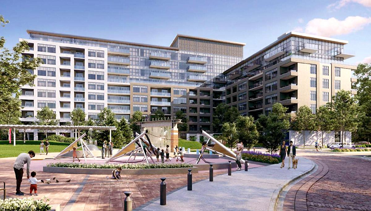 New Mixed-Use, Mid-Rise Condominium in Etobicoke