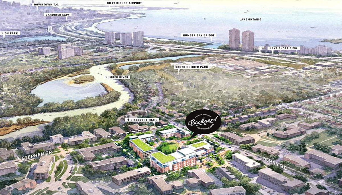 New Condo project at Berry Rd & Stephen Dr, Etobicoke, ON M8Y 1W2