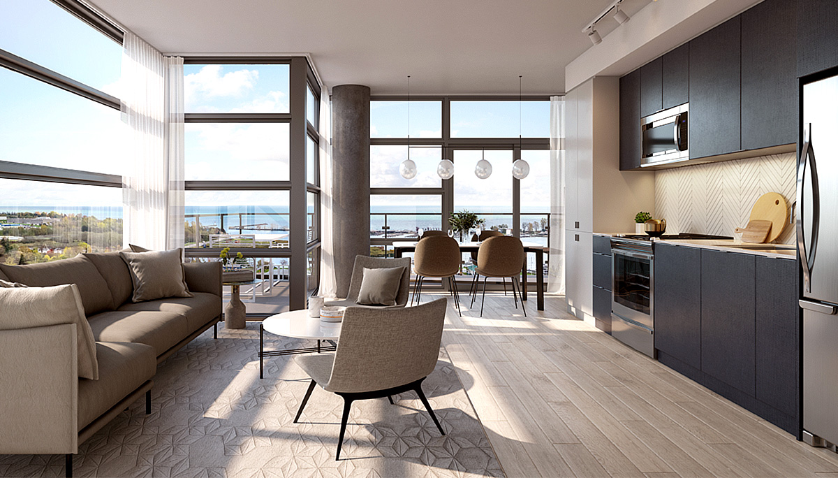 The suites will offer modern features and finishes