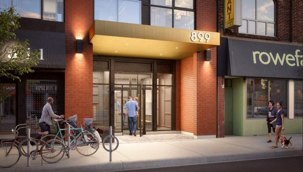 New Condo Project at 899 Queen St E, Toronto, ON M4M 1J4
