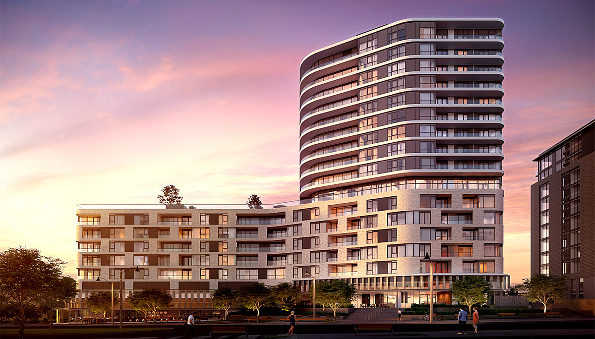 Luxurious Condo Development steps away from Maple GO Station