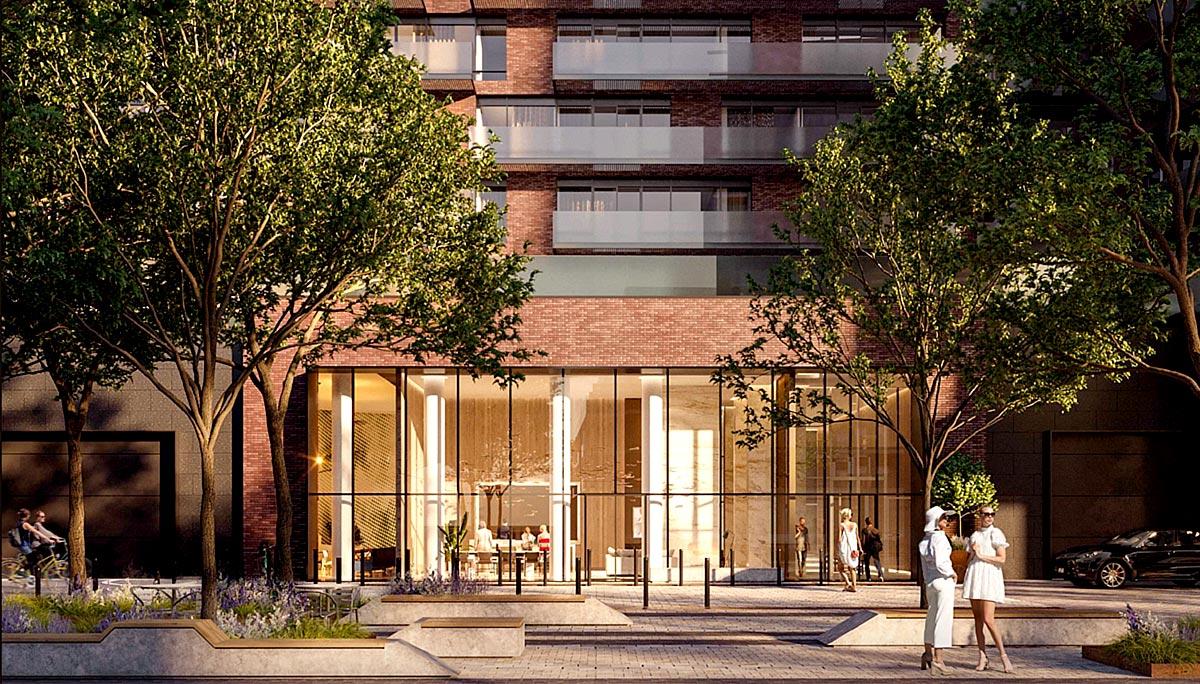 9-storey boutique style condominium in the Port Credit neighbourhood