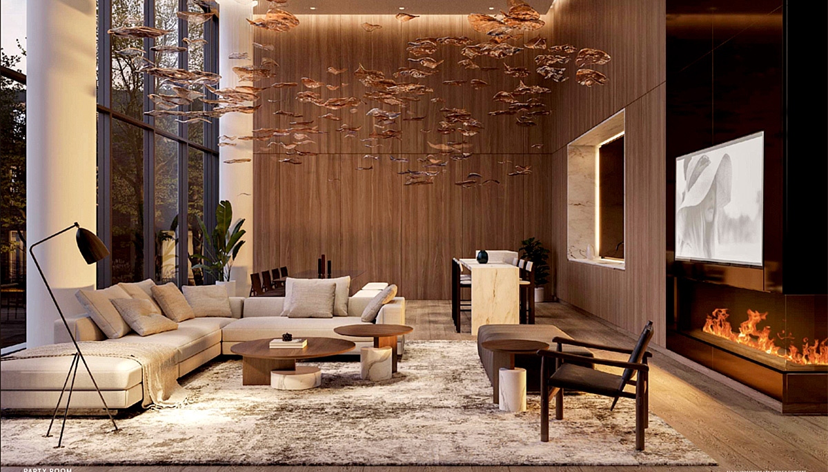 The amenities will come with a grand welcoming lobby