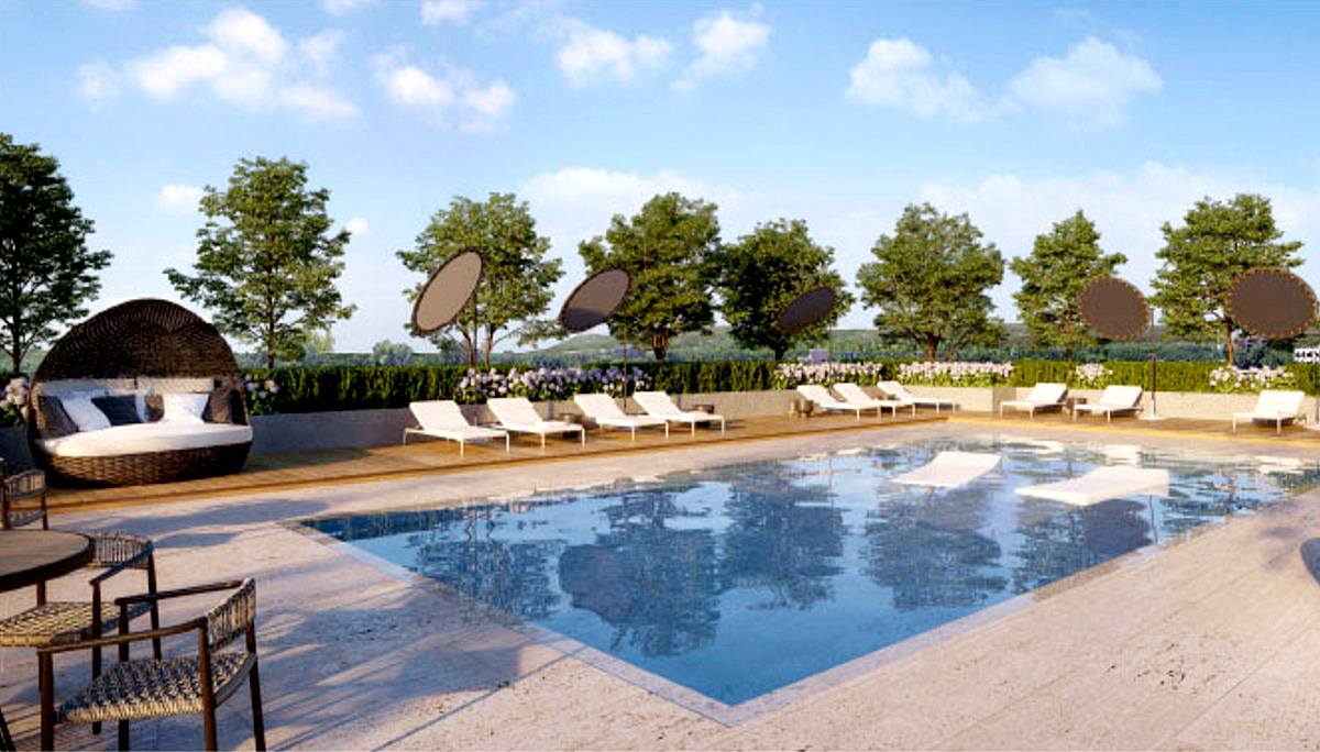 A new community of modern residential condos that will feature exceptional amenities