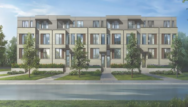 Townhome Project at Ranee Avenue, North York, ON M6A 1M6