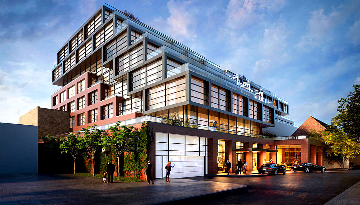 New Condo development at 2946 Dundas St W, Toronto, ON M6P 1Y8