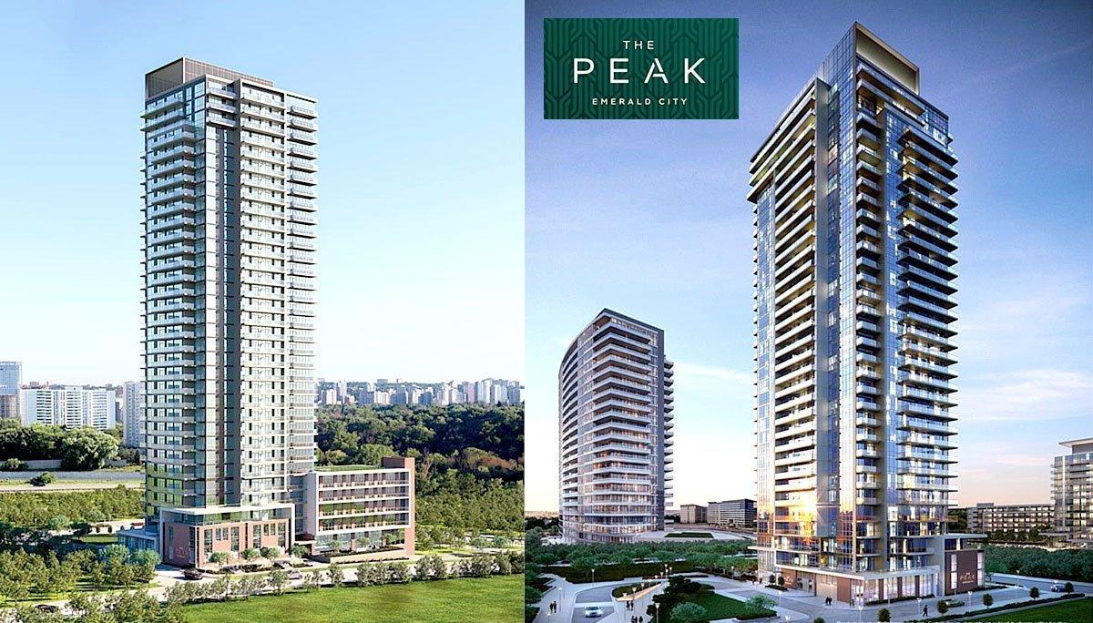 The Peak at Emerald City Condos