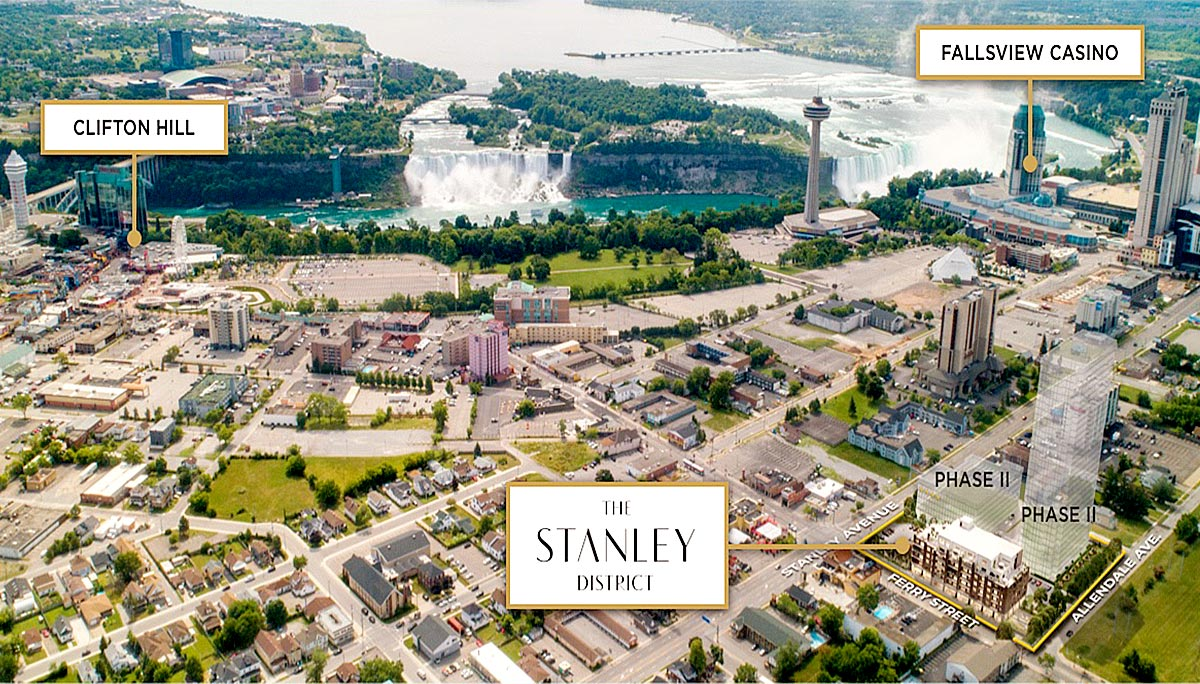 New Condo Project at Ferry St & Stanley Ave, Niagara, ON L2G 1R5