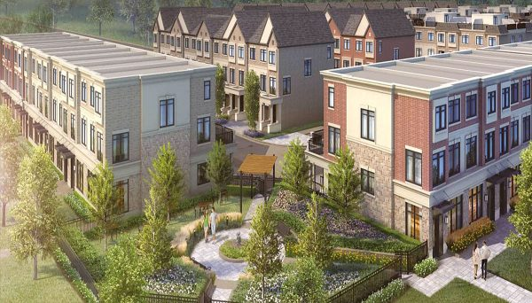 Nedw Family Townhome Project at 5472 Main St, Whitchurch-Stouffville, ON L4A 7X5