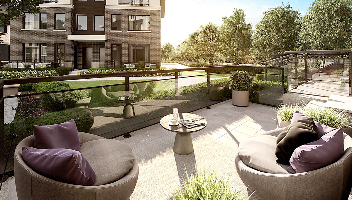 All Phase 2 residents will have access to an expansive outdoor space