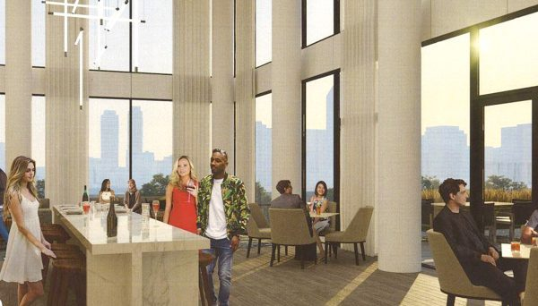 The 3rd floor amenities will appeal to its residents