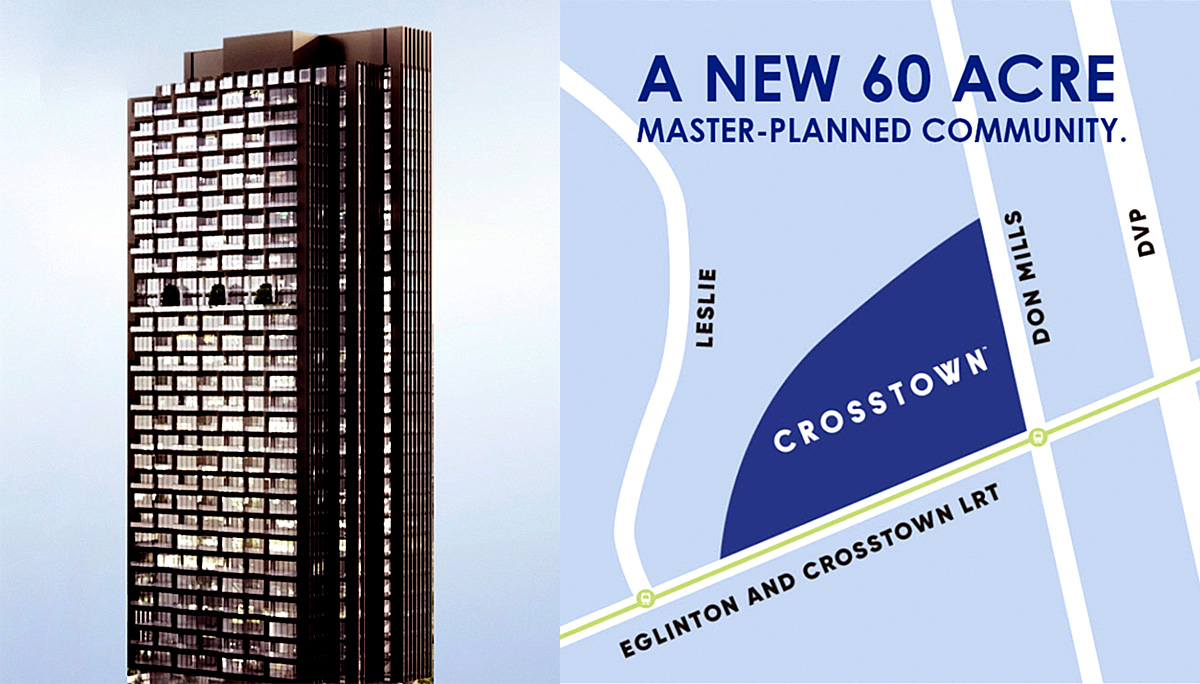 New Condo project at 844 Don Mills Rd, North York, ON M3C 1V7