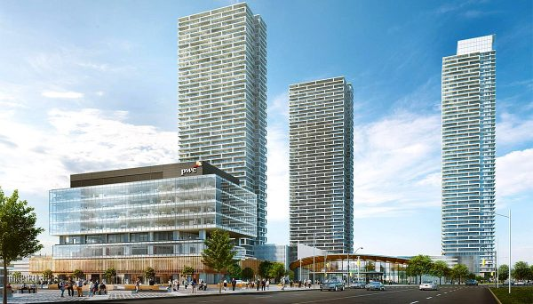 New condo project at York Regional Rd 7, Vaughan, ON M4P 1P1