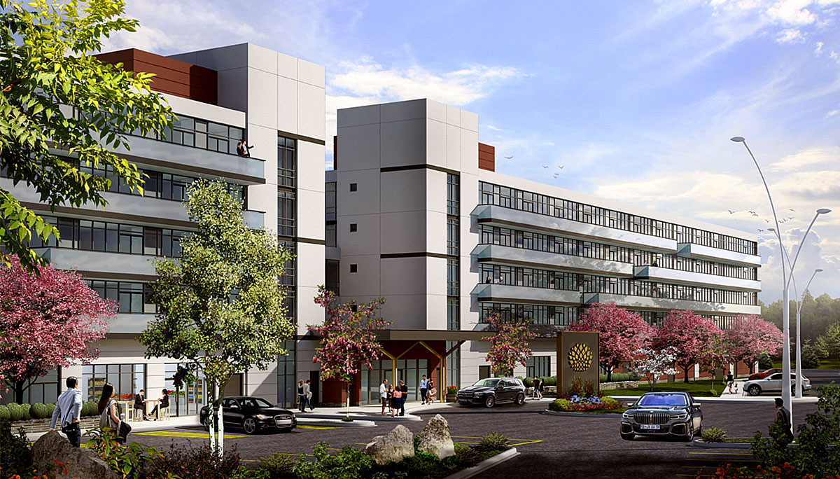 New Modern Condo Development with 212 units in Niagara