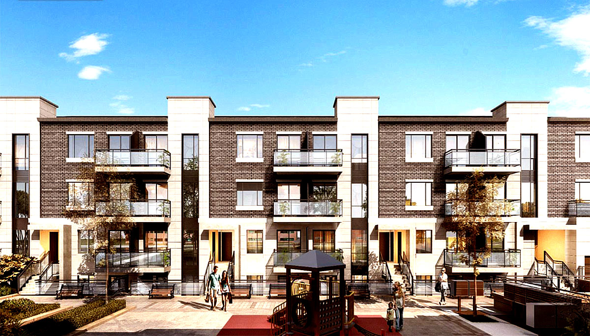 New Stacked Townhomes in L'Amoreaux Neighbourhood