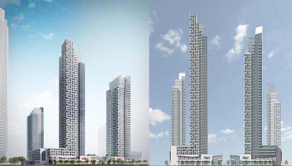 New Condominium with 574 residential units and commercial space