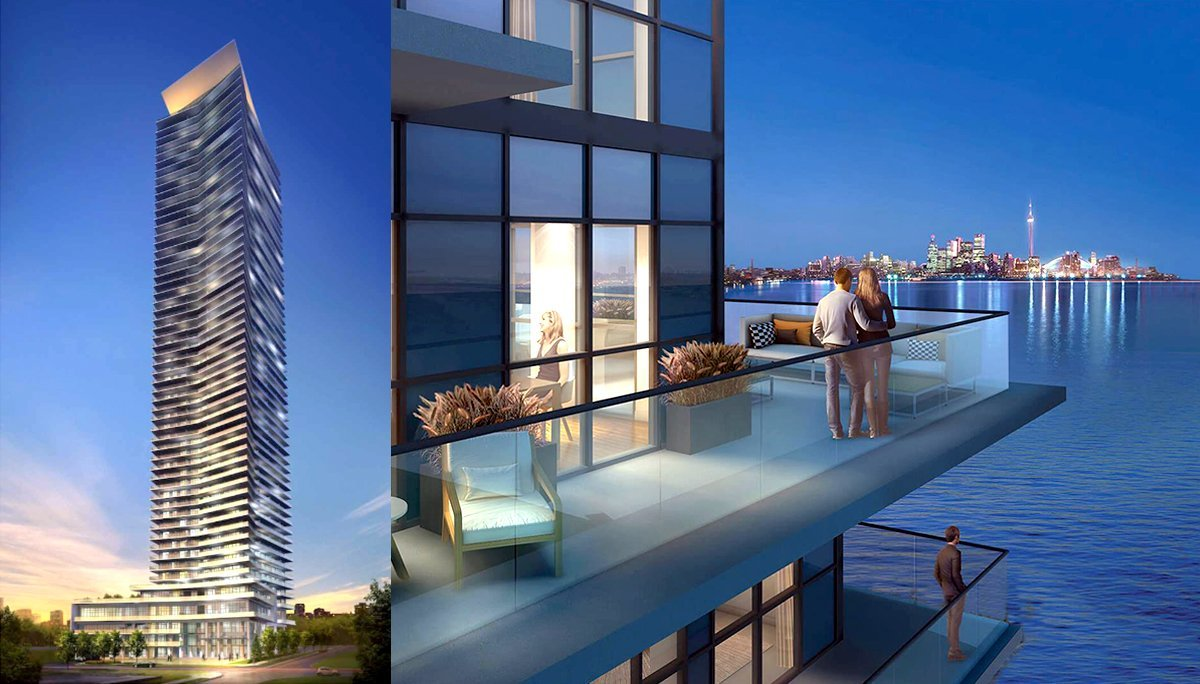New Condo Project at 2147 Lake Shore Blvd W, Etobicoke, ON M8V