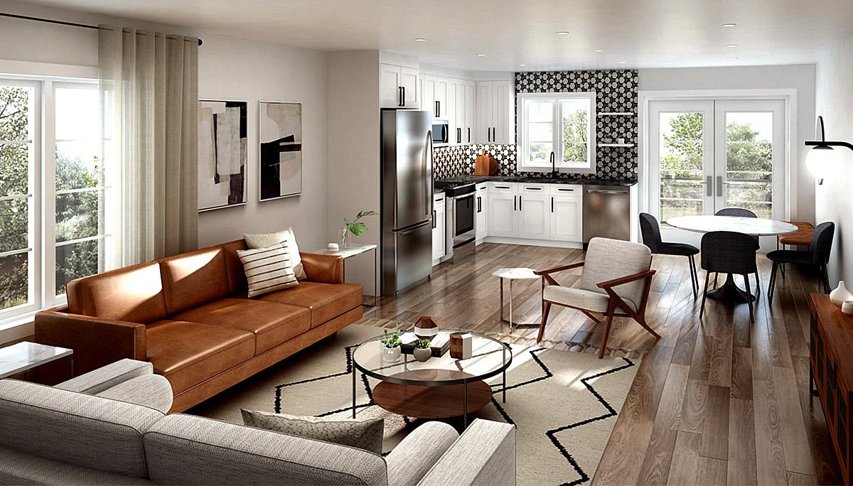 New Modern Townhome Development in Kitchener