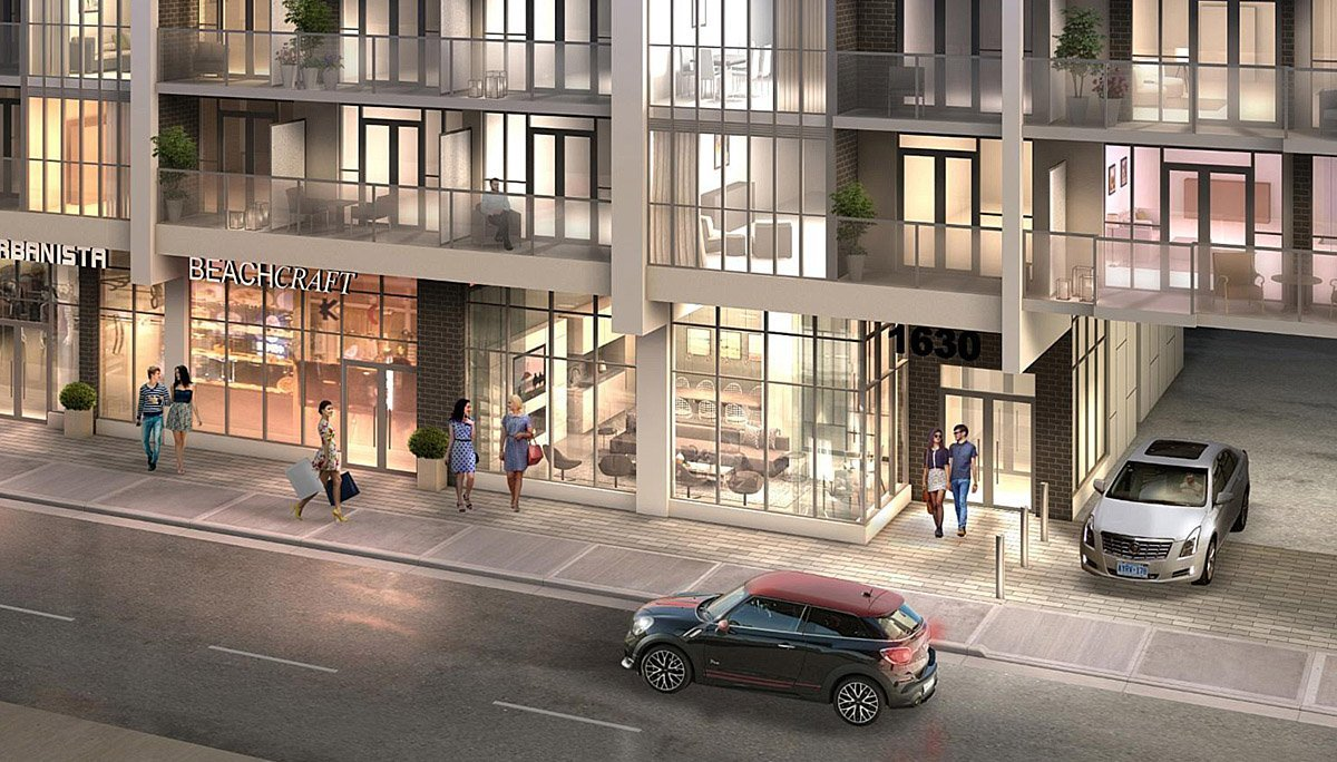 NEw condo at 1630 Queen Street East, Toronto, ON M4L 1G3