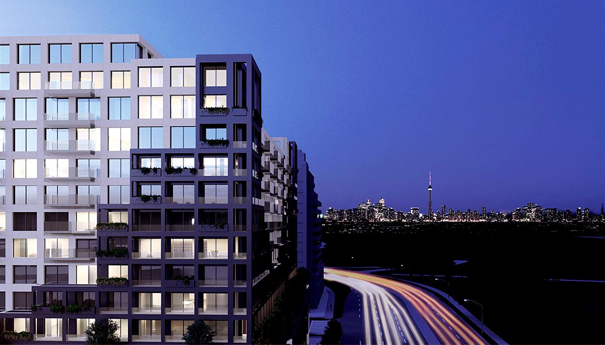 New Luxury High-Rise Condominium in the York University Heights neighbourhood