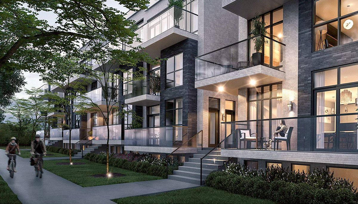 New Townhome Project at Winlock Park, North York, ON