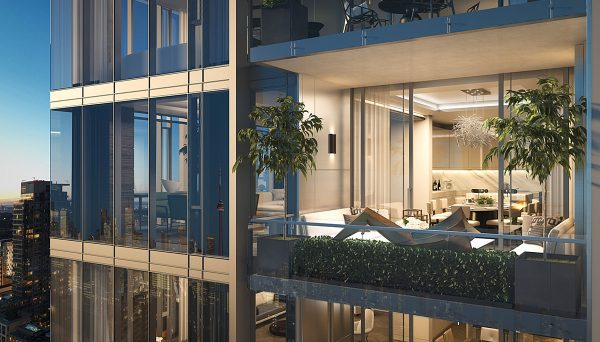Condo Project at 200 Cumberland St, Toronto, ON, M5R 1A8