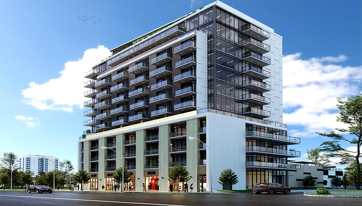 New 13-storey Mid-rise Condominium Development