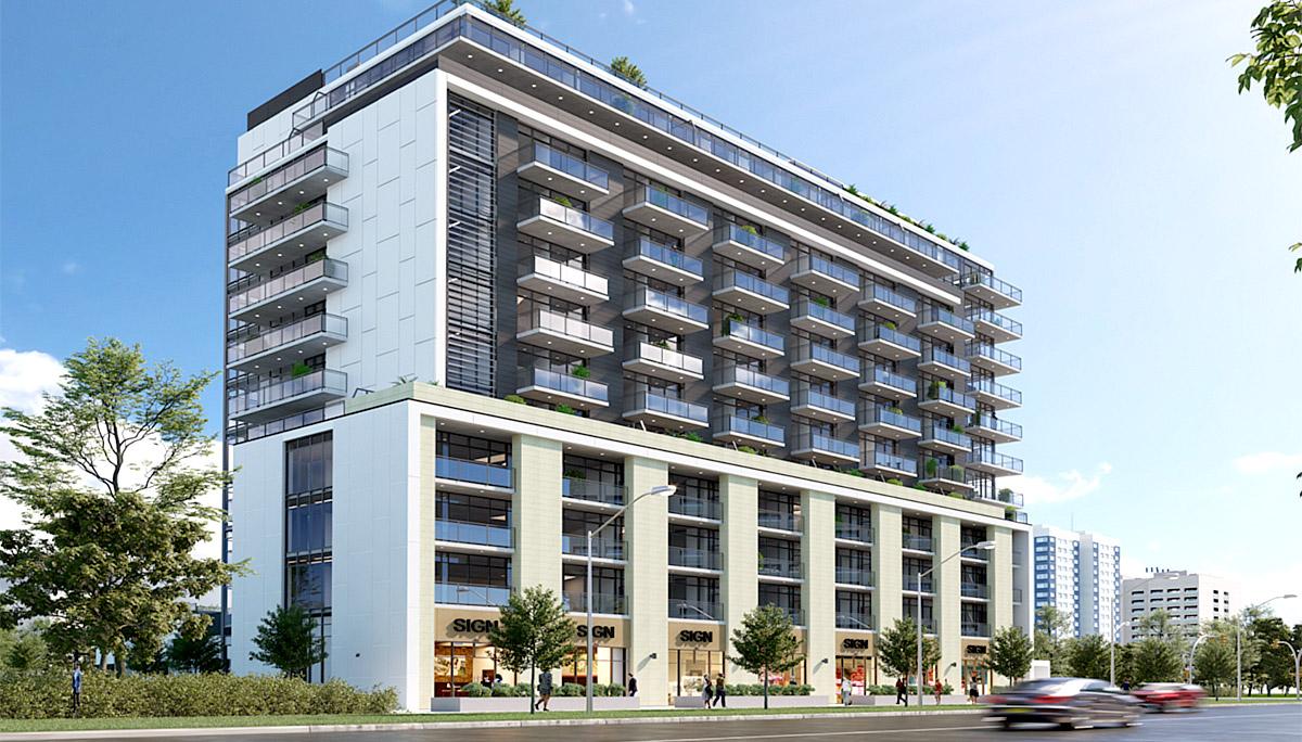 New Modern Condominiumnearby Yorkwoods Plaza